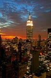 city midtown new skyline york Στοκ Φωτογραφία