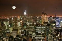 city midtown new skyline york Στοκ εικόνα με δικαίωμα ελεύθερης χρήσης