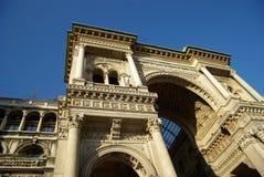 City of Milan stock image