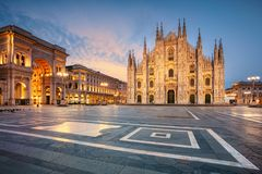 City of Milan, Italy. stock images