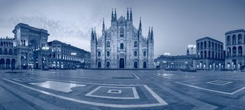 City of Milan, Italy. Royalty Free Stock Images
