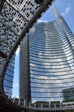 City of Milan, new urban development. Stazione Garibaldi area Stock Photography