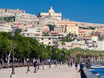 City of Milazzo, Sicily, Italy Royalty Free Stock Images