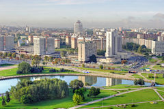 City Minsk Stock Image