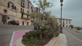 City Minturno Italy stock video