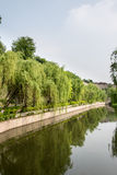 City Moat Royalty Free Stock Photos