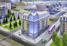 City model Royalty Free Stock Photography