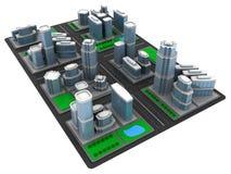 City model Royalty Free Stock Image