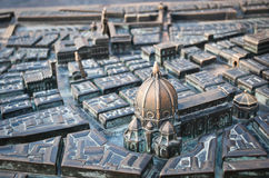 City model of Florence Stock Images
