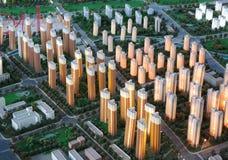 City Model Stock Image