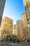 Modern buildings in Soho district. Beijing, China.  stock photo