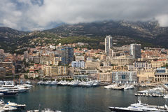 City of Monaco Royalty Free Stock Photo