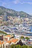 City of Monaco during the Formula One season Stock Images