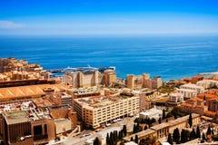 City of Monaco panorama Stock Image