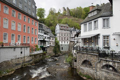 City of Monschau, Germany Stock Images