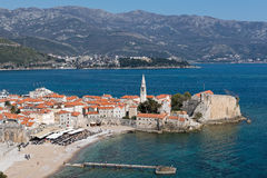 City in Montenegro Royalty Free Stock Images