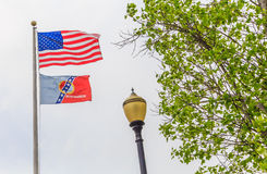 City of Montgomery Flag Royalty Free Stock Image