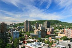 City of Montreal Stock Images
