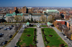 City of Montreal. Panorama of the city of Montreal royalty free stock images