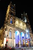City of Montreal. Square Notre Dame Stock Image