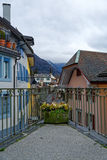 The city of Montreux in Switzerland Royalty Free Stock Image