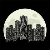 City moon Stock Photos