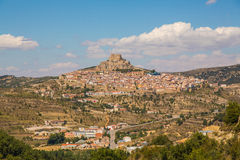 City of Morella, Spain Stock Photography