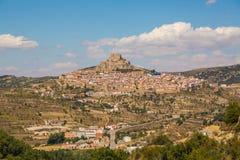 City of Morella, Spain Stock Photography