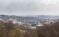 City of Morgantown in West Virginia Royalty Free Stock Image