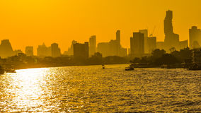 City in The Morning Royalty Free Stock Image