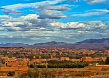 City in Morroco Royalty Free Stock Photo