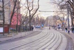 City Moscow. Sadovnichesky passage Stock Photo