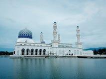 City Mosque Kota Kinabalu. A masterpiece of contemporary islamic Stock Photography