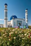 City mosque Taraz, Kazakhstan. City mosqueTaraz. A Silk Way Kazakhstan royalty free stock photo