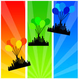 City on the move stock illustration
