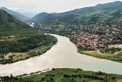 City of Mtskheta in Georgia Royalty Free Stock Image