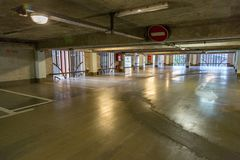 City multilevel parking Royalty Free Stock Photography