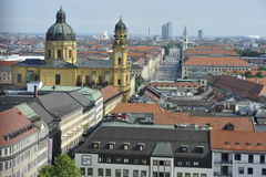 City of Munich Royalty Free Stock Images