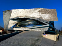 City of Music - Paris. Cité de la Musique City of Music, renamed Philharmonie 2 in 2015, is a group of institutions dedicated to music and situated in the Parc Royalty Free Stock Photo