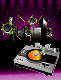 City music vector Royalty Free Stock Images