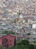 The city of Naples from above. Napoli. Italy.  Stock Images