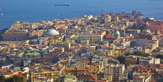 The city of Naples, Italy Stock Photo