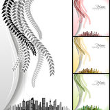 City and Nature Royalty Free Stock Photography
