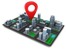 City navigation Royalty Free Stock Image