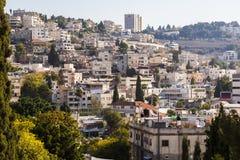 The city of Nazareth. Israel Royalty Free Stock Photo