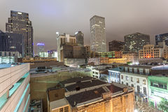 City of New Orleans at night Stock Images