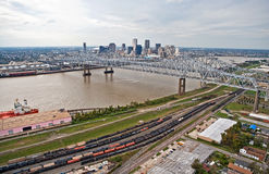 City of New Orleans Royalty Free Stock Photo