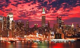 city new skyline york Στοκ Εικόνα