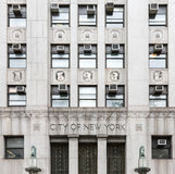City of New York Government Building. NEW YORK, USA - Apr 28, 2016: The New York City Department of Health and Mental Hygiene (DOHMH) is the department of the Royalty Free Stock Images