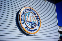 City of Newport Beach Seal Royalty Free Stock Images